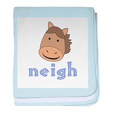 Animal Noises - Horse Neigh baby blanket