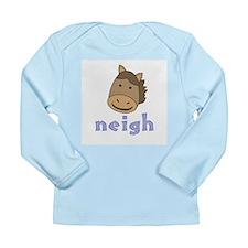 Animal Noises - Horse Neigh Long Sleeve Infant T-S