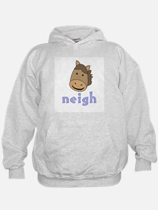Animal Noises - Horse Neigh Hoodie