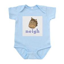 Animal Noises - Horse Neigh Infant Bodysuit