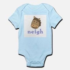 Animal Noises - Horse Neigh Infant Bodysuit