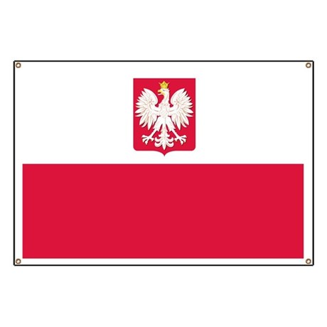 Flag of Poland Banner