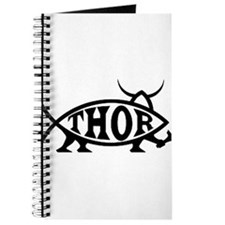 Thor Fish with Hammer Journal
