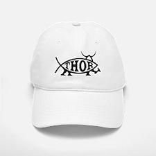 Thor Fish with Hammer Baseball Baseball Cap