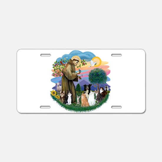 StFrancis2 / Aluminum License Plate