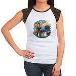 StFrancis2 / Women's Cap Sleeve T-Shirt