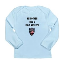 USMLM My Mother was a Coldwar Long Sleeve Infant T