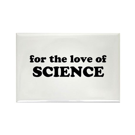 Love of Science Rectangle Magnet