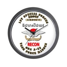 SOF - Det A22 - B Co - 1st SFG Wall Clock