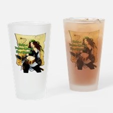 Sexy Pirate Wench Drinking Glass