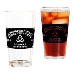 Ouija Board Drinking Glass