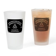 Ouija Board Drinking Glass