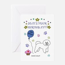 Bichon Frise Greeting Card