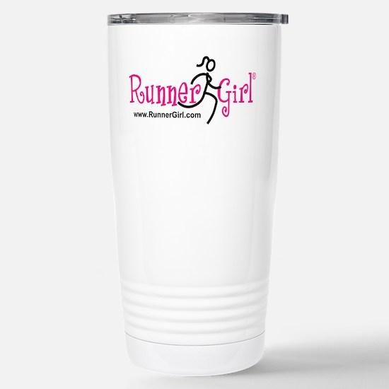RunnerGirl Stainless Steel Travel Mug