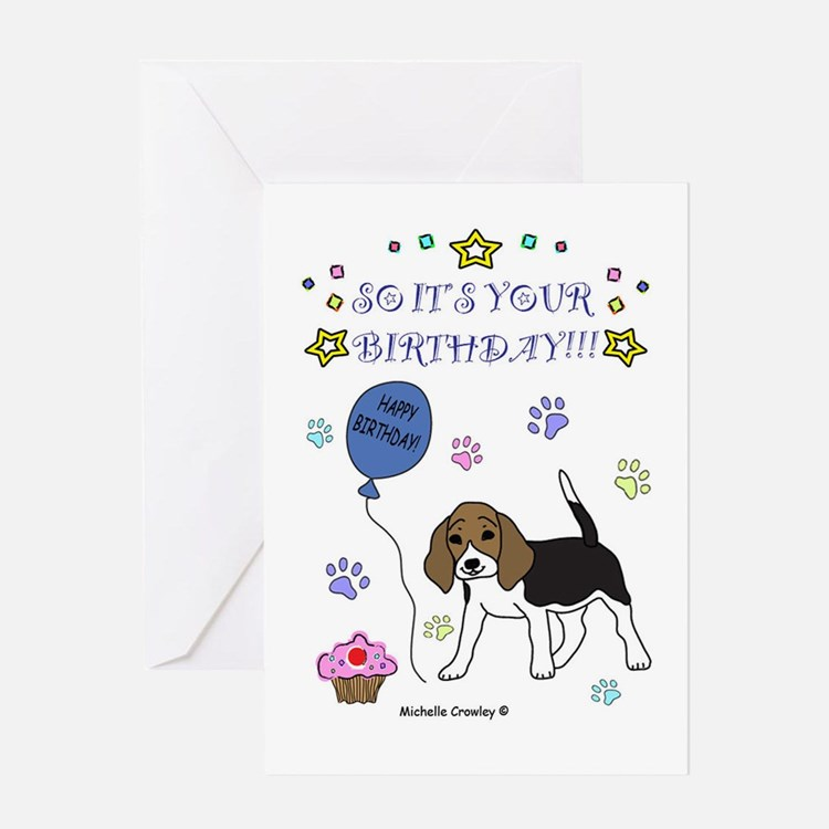 happy birthday beagle greeting cards  card ideas, sayings, Birthday card