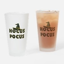 Hocus Pocus Black Drinking Glass