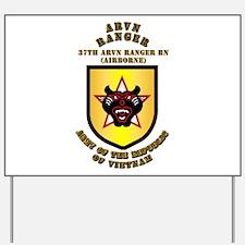 SOF - 37th ARVN Ranger Bn Yard Sign
