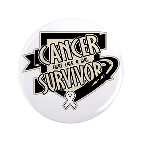"Retinoblastoma Survivor 3.5"" Button (100 pack)"