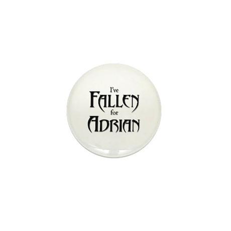 I've Fallen for Adrian Mini Button