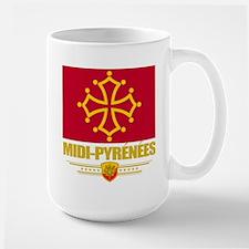 Midi-Pyrenees Large Mug