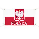 Polish Flag Banner