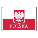 Polish flag Banners