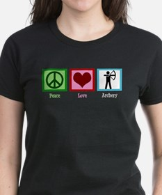 Peace Love Archery Tee