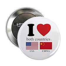 """USA-CHINA 2.25"""" Button (100 pack)"""