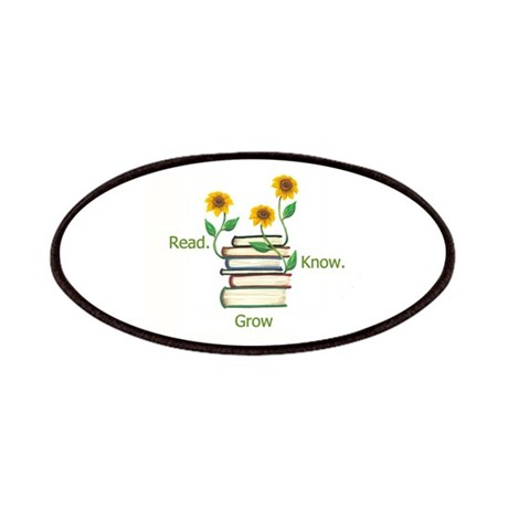 Sunflowers and Books Patches