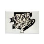 Lung Cancer Survivor Rectangle Magnet (100 pack)