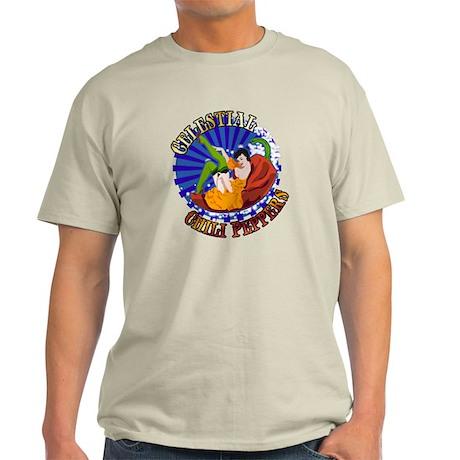 Celestial Chili Peppers Light T-Shirt