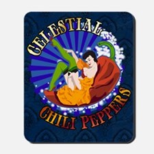 Celestial Chili Peppers Mousepad