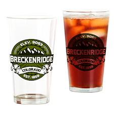 Breckenridge Olive Drinking Glass
