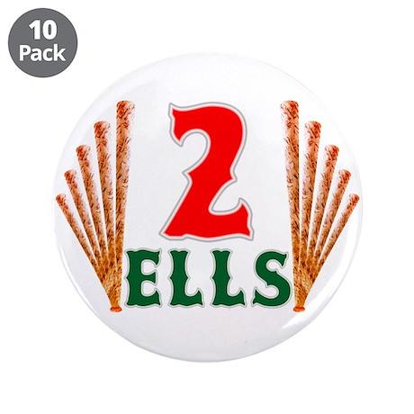 "Ells 2 Jacoby Ellsbury 3.5"" Button (10 pack)"
