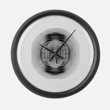 X-Ray Image of DNA Large Wall Clock
