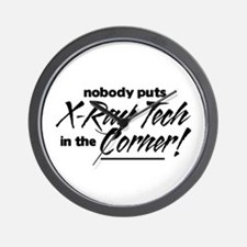 X-Ray Nobody Corner Wall Clock