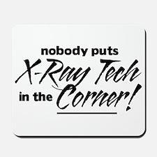 X-Ray Nobody Corner Mousepad