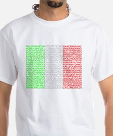Italian Cities Flag Shirt