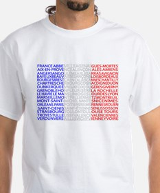 French Cities Flag Shirt
