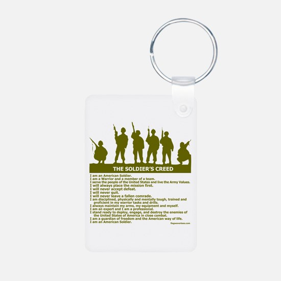 SOLDIER'S CREED Keychains
