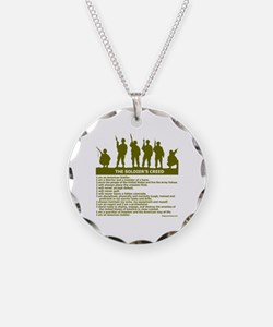 SOLDIER'S CREED Necklace