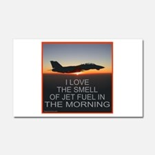 SMELL OF JET FUEL Car Magnet 20 x 12