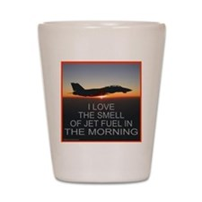 SMELL OF JET FUEL Shot Glass