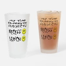 LUNCH AND RECESS Drinking Glass