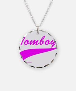 TOMBOY Necklace Circle Charm
