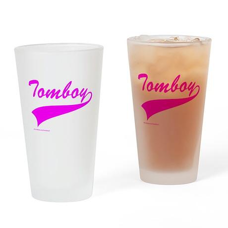 TOMBOY Drinking Glass