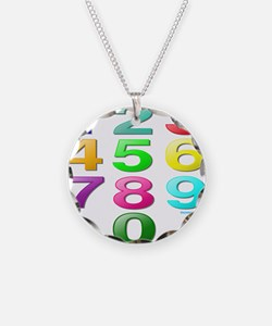 COUNTING/NUMBERS Necklace
