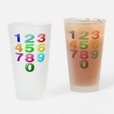 COUNTING/NUMBERS Drinking Glass