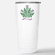 Unique Scottish thistle Travel Mug