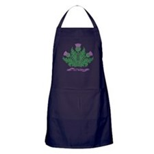 Cute Thistles Apron (dark)